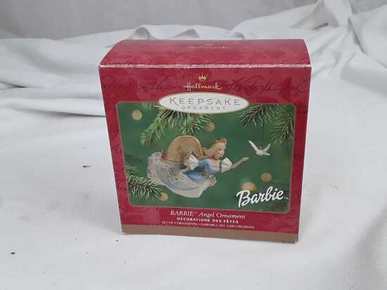 "HALLMARK ""BARBIE ANGEL ORNAMENT"" ORIG BOX"