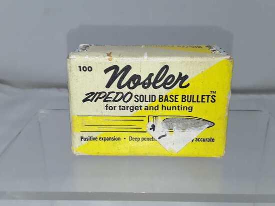 1 BOX NOSLER .243 CAL BULLETS