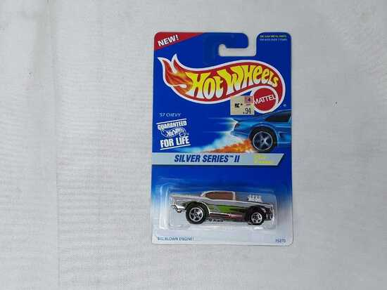 HOT WHEELS SILVER SERIES '57 CHEVY