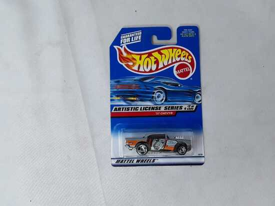 HOT WHEELS ARTISTIC LICENSE SERIES '57 CHEVY