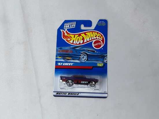 HOT WHEELS '57 CHEVY PURPLE