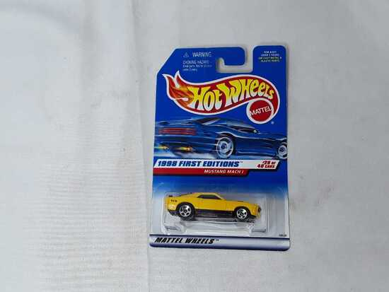 HOT WHEELS 1998 1ST EDITION MUSTANG MACH 1