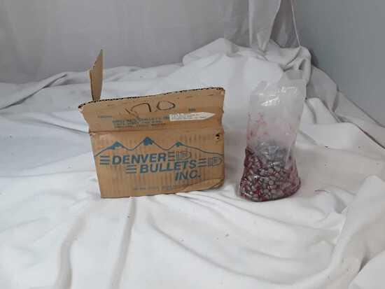 1 BOX OF 9MM BULLETS