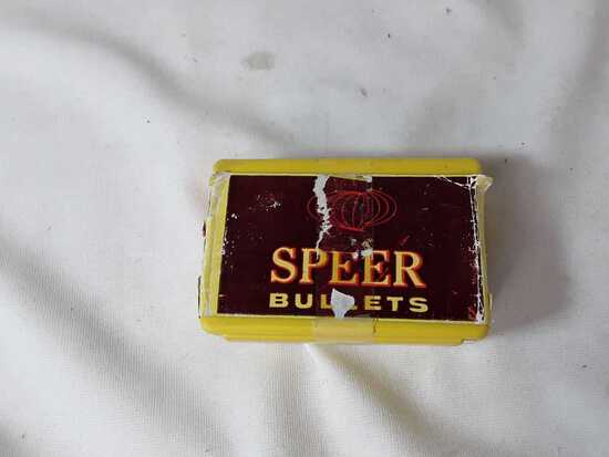 1 BOX OF SPEER 270 CAL BULLETS
