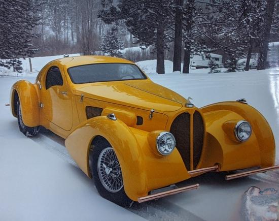 1937 Type 57S Bugatti Delahaye Kit Car