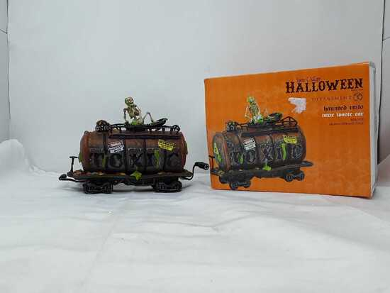 Department 56 Halloween Toxic Waste Car