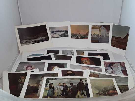 Lot of 20+ National Gallery of Art Prints