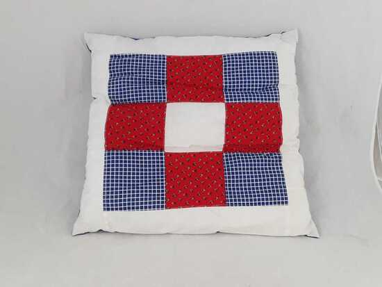 "20"" X 20"" QUILTED PILLOW"