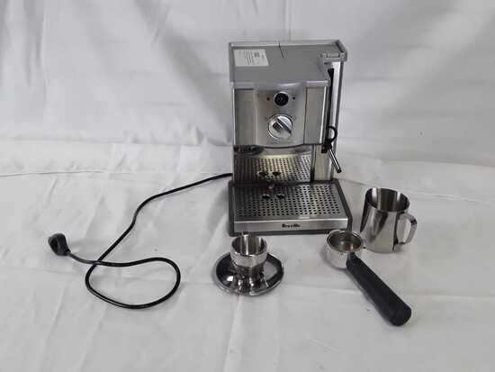 Breville ESP8XL Cafe Roma Espresso Maker, Silver