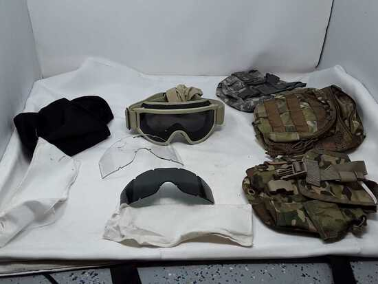 Military Canteen Bags & ESS Goggles