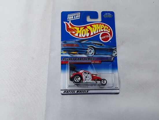 HOT WHEELS SECRET CODE SERIES FIAT 00C