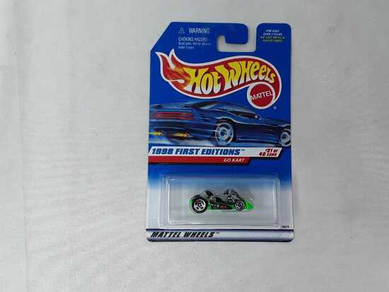 HOT WHEELS 1998 1ST EDITION GO KART