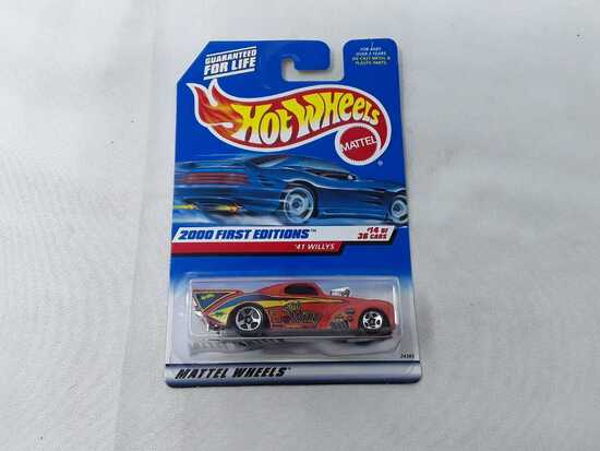 HOT WHEELS 2000 1ST EDITION '41 WILLLYS
