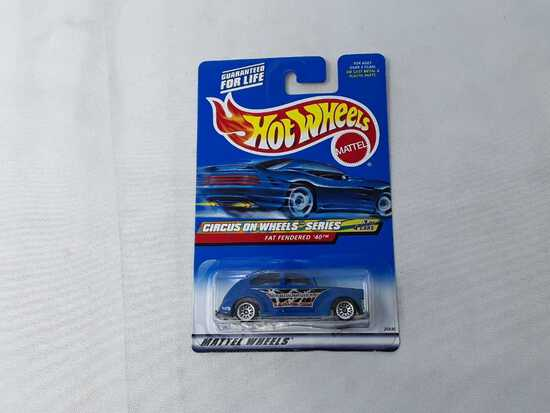HOT WHEELS CIRCUS ON WHEELS SERIES FAT FENDERED