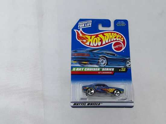 HOT WHEELS X-RAY CRUISER SERIES '67 CAMARO