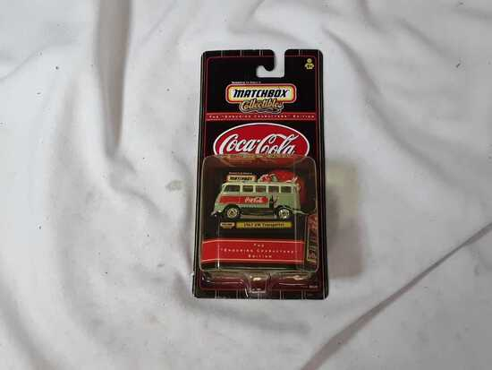 MATCHBOX 1967 VW TRANSPORTER COCA COLA