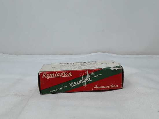 1 BOX OF REMINGTON 45 AUTO EMPTY SHELLS
