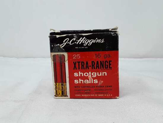 1 BOX OF J.C HIGGINS 16 GA SHOTGUN AMMO