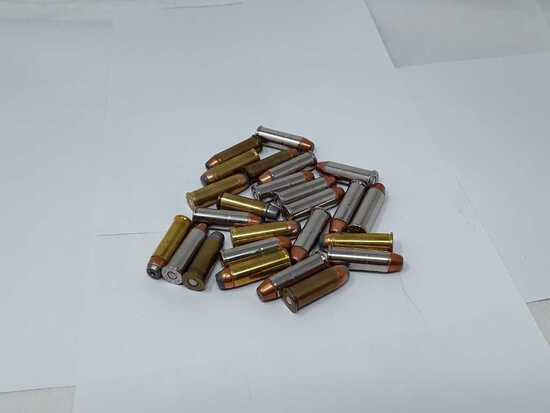 25 ROUNDS OF 44 CAL AMMO