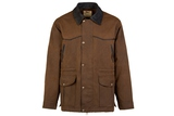 OWO 205BR4- THE DRAFTER 3/4 DISTRESSED OILSKIN S