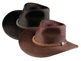 HAT 620BR6 DOWN UNDER OILSKIN HAT BROWN SIZE L