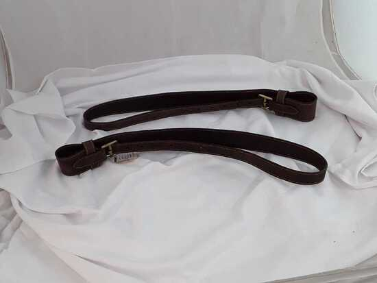 """LEAT 260BRM-KIM 2.5"""" LEATHERS BROWN MED"""