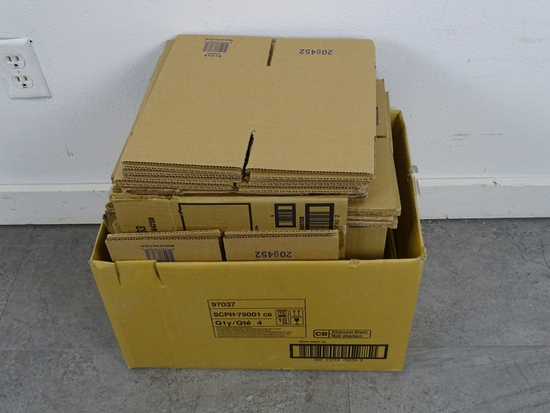 """15 PLUS CARBOARD BOXES 9"""" X 9"""""""