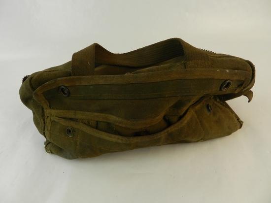 GREEN FABRIC SMALL TOOL BAG