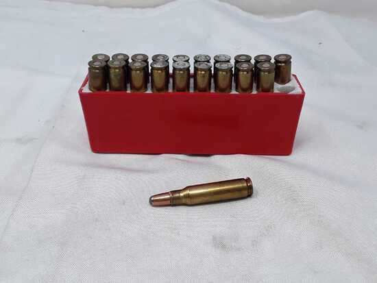 20 ROUNDS OF 308 WIN LIVE AMMO