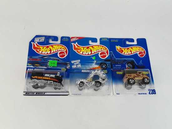 3 HOT WHEELS COLLECTOR #S 239 / 323 / 370
