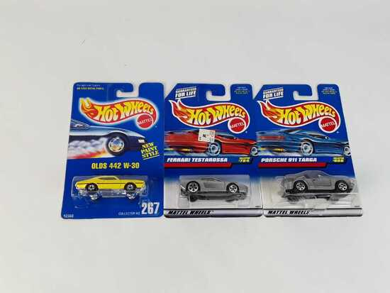 3 HOT WHEELS  COLLECTOR #S 267 / 608 / 784