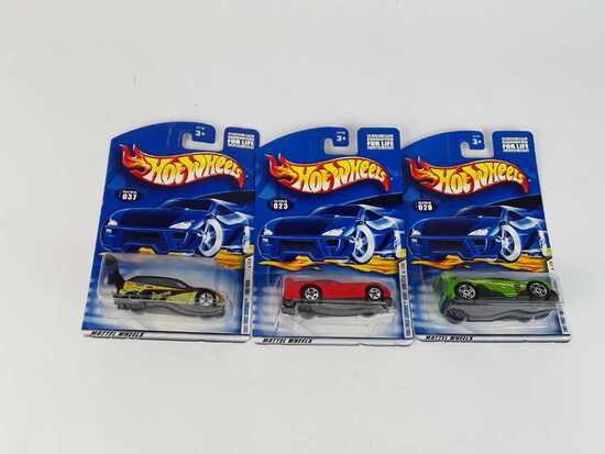 3 HOT WHEELS 2001 1ST EDITIONS