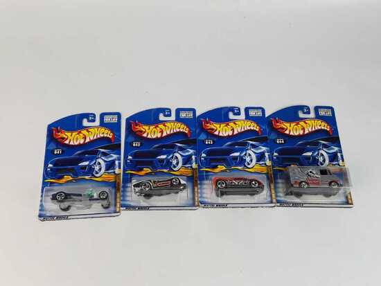 4 HOT WHEELS/ 2000 TONY HAWK SKATE SERIES