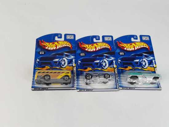 3 HOT WHEELS/ NEW/ 2001 1ST EDITIONS