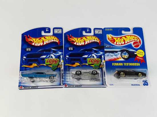 3 HOT WHEELS/ 2003 / COLLECTOR #S: 013 / 015/ 035