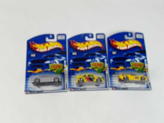 3 HOT WHEELS/NEW/ 2002 1ST EDITIONS
