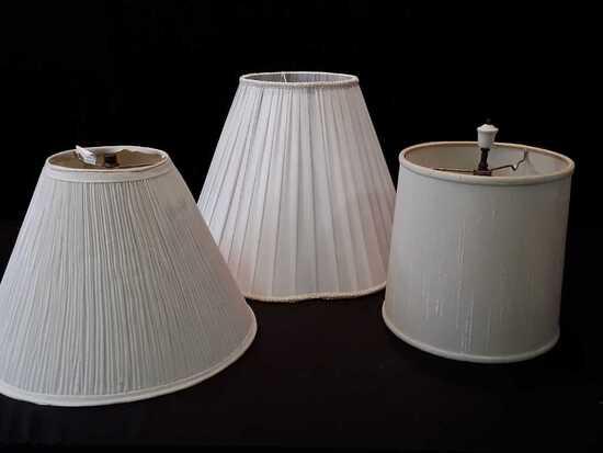 SET OF 3 LAMP SHAPES
