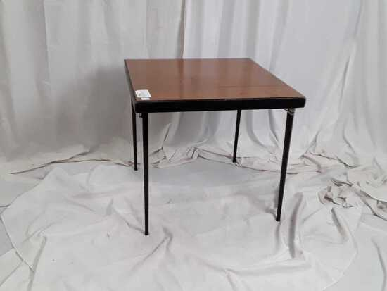VINTAGE FOLDING SEWING TABLE