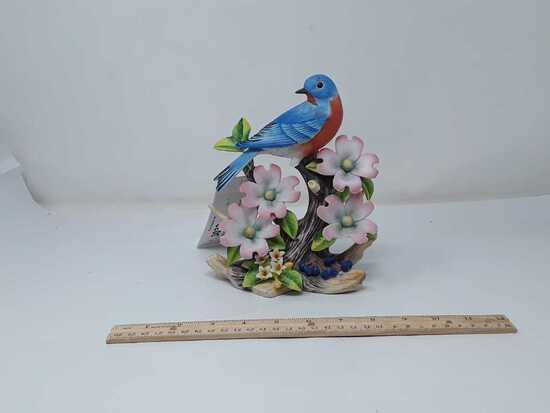 EASTERN BLUEBIRD BY ANDREA FIGURINE