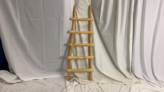 Decorative Southwest Wood Ladder.