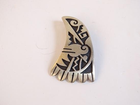 Sterling Hopi Pendant, 12g (0.4oz)