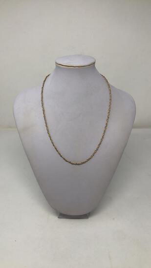 18K 2-TONE GOLD NECKLACE 7g