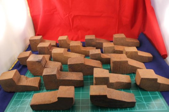 Lot of 25 Blocks W/ Stems 200 Yr Old Imported Briar Blocks W/ Stems