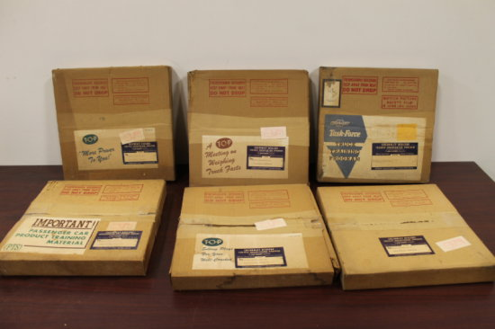 Rare Lot of 1955 and 1950's Chevrolet Dealer Training Film Reels