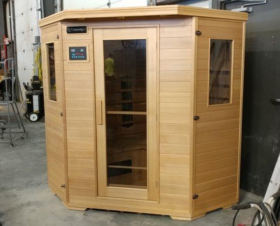 2 Person Sauna Bob's Dry Sauna, Like New