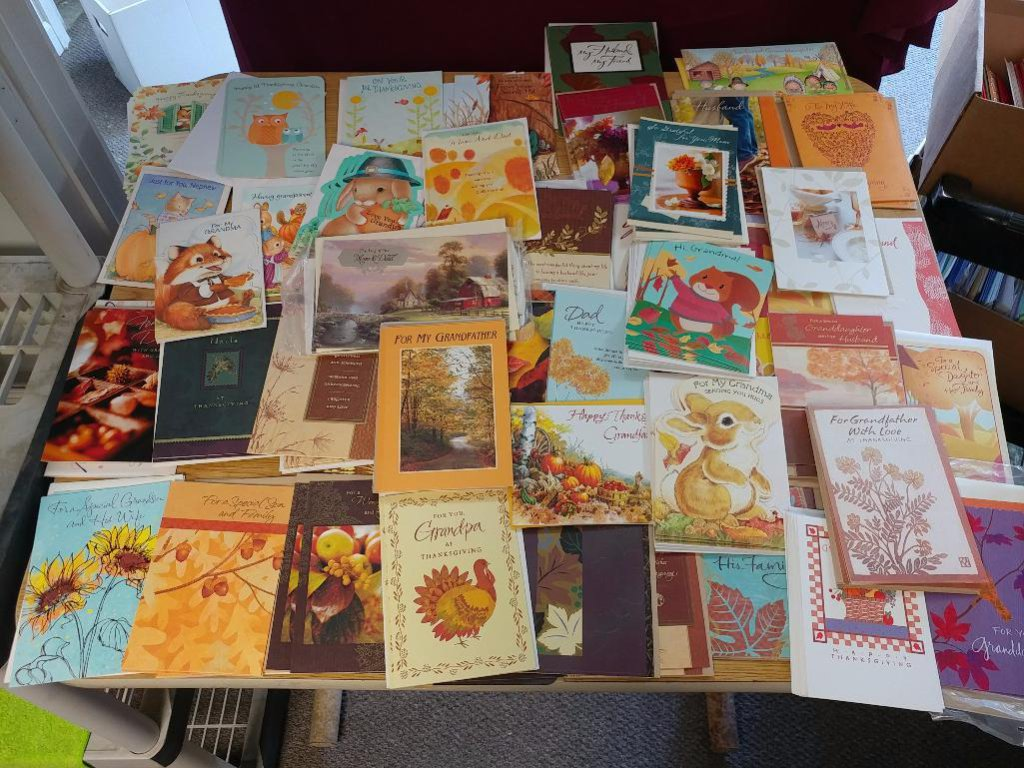 50+ Thanksgiving Cards