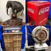 Americana Antiques & Advertising Estate Auction