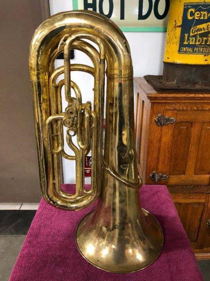 Yamaha YBB103 Japan Brass Tuba (No Case, Some Dents)