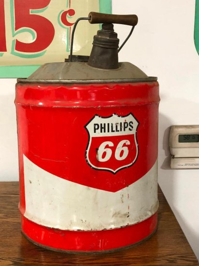 Phillips 66 Five Gallon Gasoline Can