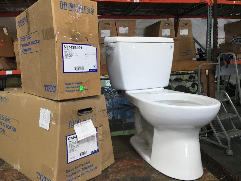 NIB Toto Toilet; Eco Drake Tan... Auctions Online | Proxibid